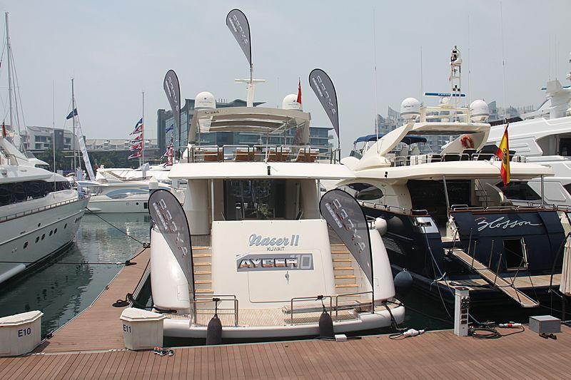 NASER II yacht Sayer