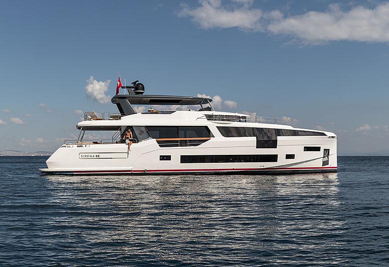 Sirena 88 RPH yacht profile