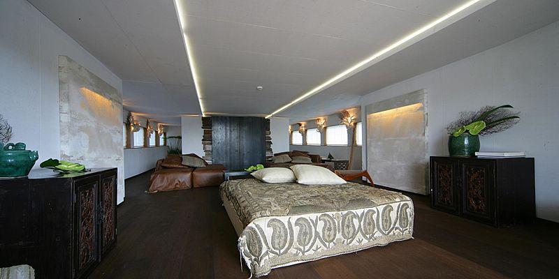 Prometej yacht cabin