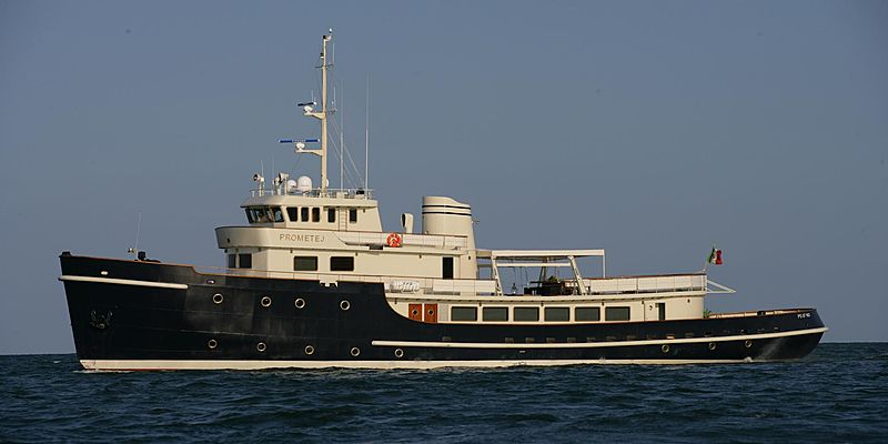 Prometej yacht