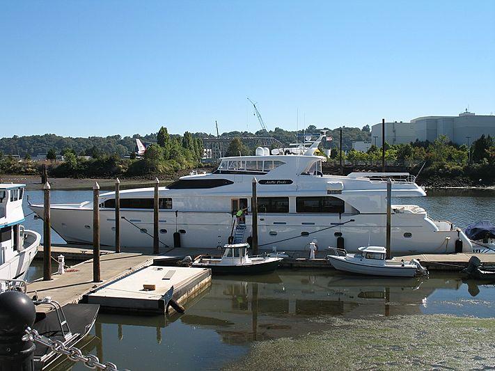 Arctic Pride yacht at Delta Marine