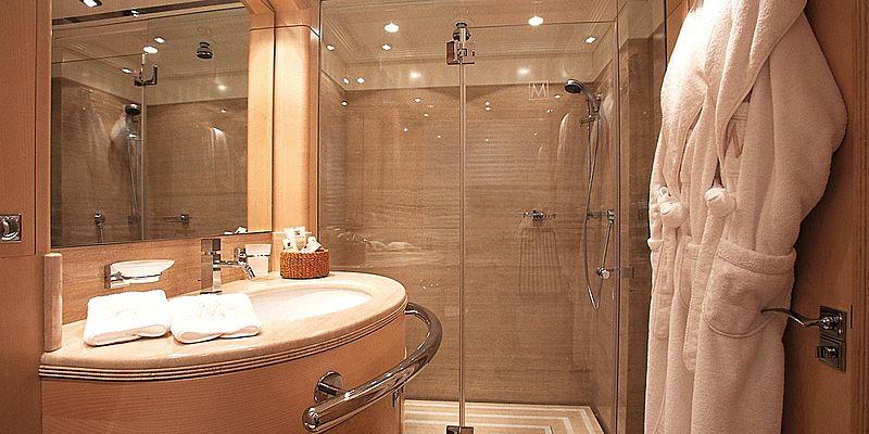 More yacht bathroom