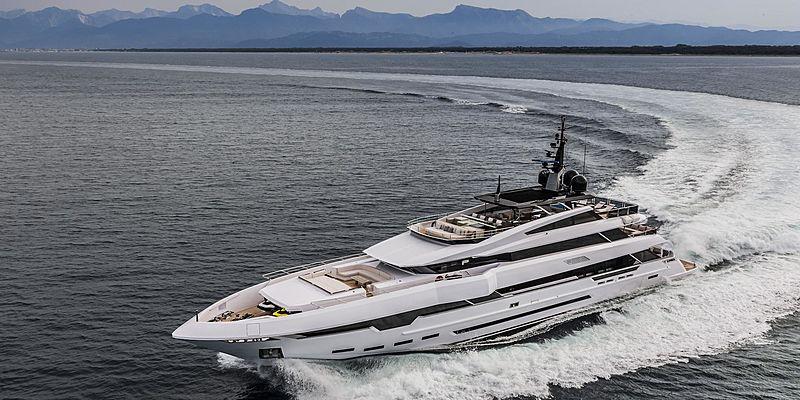 Polaris I yacht cruising