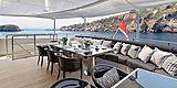 Bliss yacht aft deck