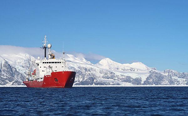 OmniAccess British Antarctic survey vessel