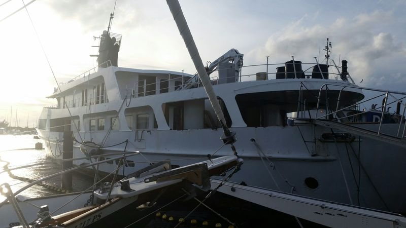 Platinum in Key West before beind scrapped