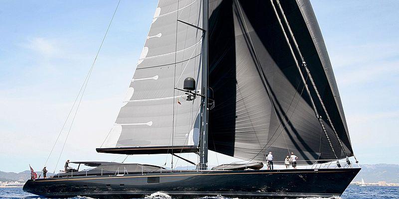 Zalmon yacht sailing