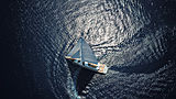 All About U 2 yacht aerial