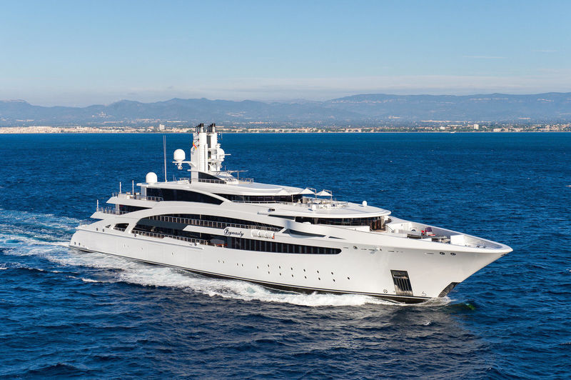 I DYNASTY yacht Peters Werft