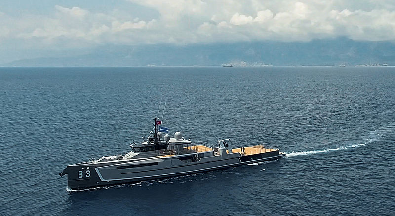 B3 Yacht Support Vessel by Damen