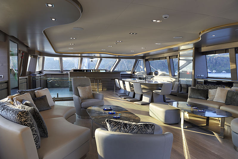 All About U 2 yacht interior