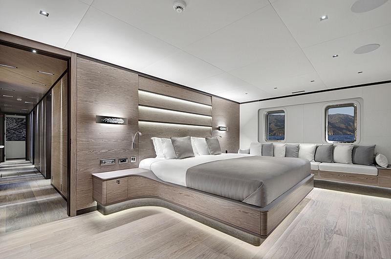 All About U 2 yacht vip cabin