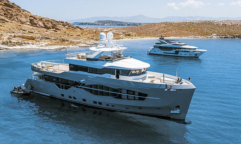 Q.M. yacht by Numarine in Kolympithres, Greece