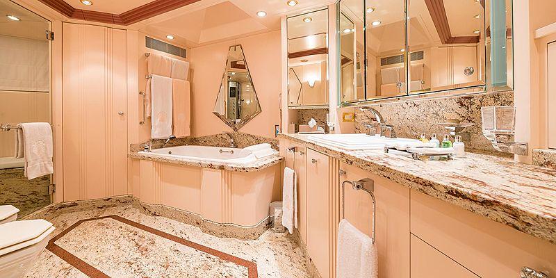 Andrea yacht bathroom