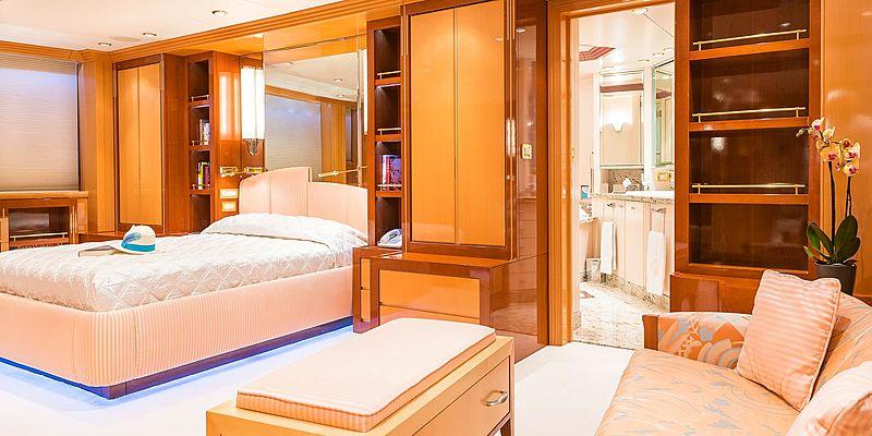 Andrea yacht stateroom