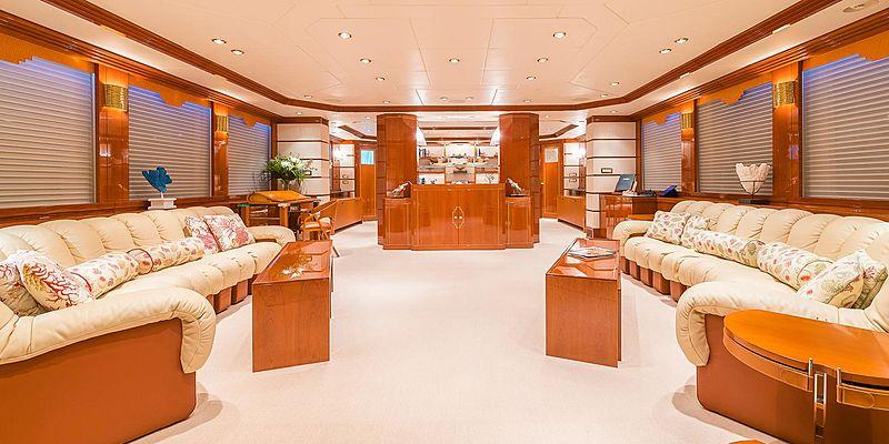 Andrea yacht saloon