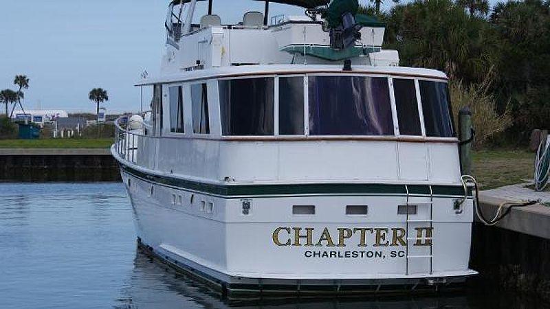 Chapter II yacht stern