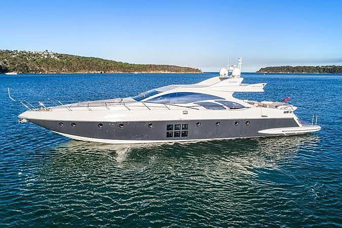 SEAS THE DAY yacht Azimut