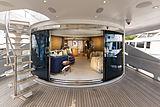 Man Of Steel yacht aft deck