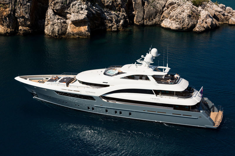 LA PASSION yacht Sarp