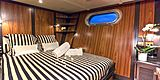 Paolyre yacht cabin