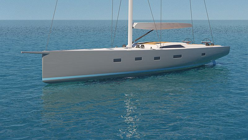 Southern Wind 96#03 Ammonite yacht