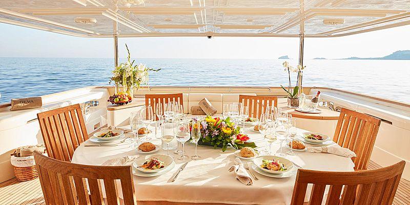 Deva yacht deck