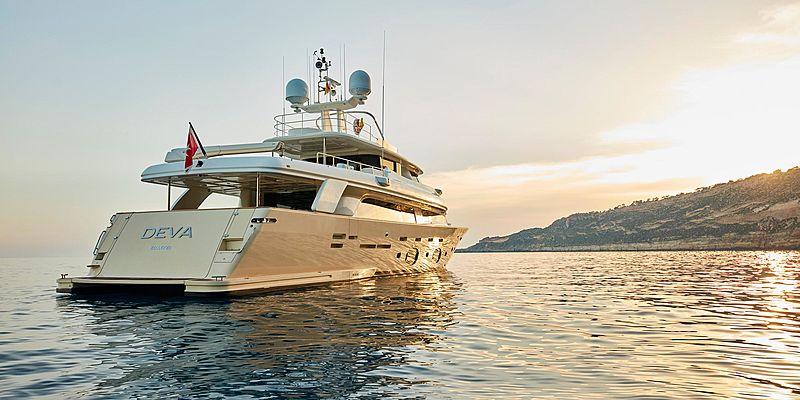 Deva yacht anchored