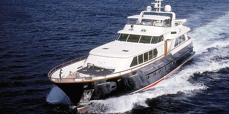 Cassiopeia yacht cruising