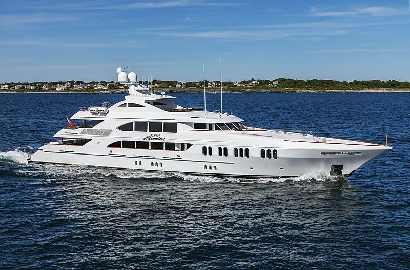 ASPEN ALTERNATIVE yacht Trinity