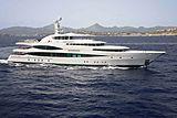 Lady Christine yacht cruising