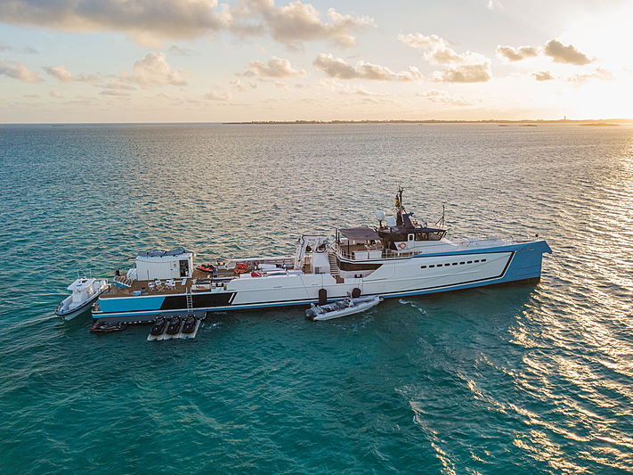 SHADOW yacht Damen Yachting