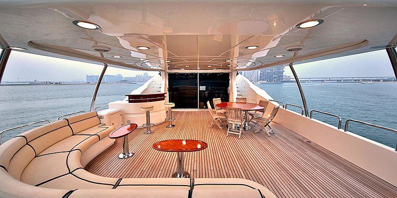 Nema yacht deck
