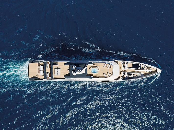 Amels 60 yacht exterior design