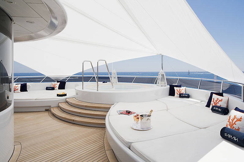 Sarah yacht jacuzzi
