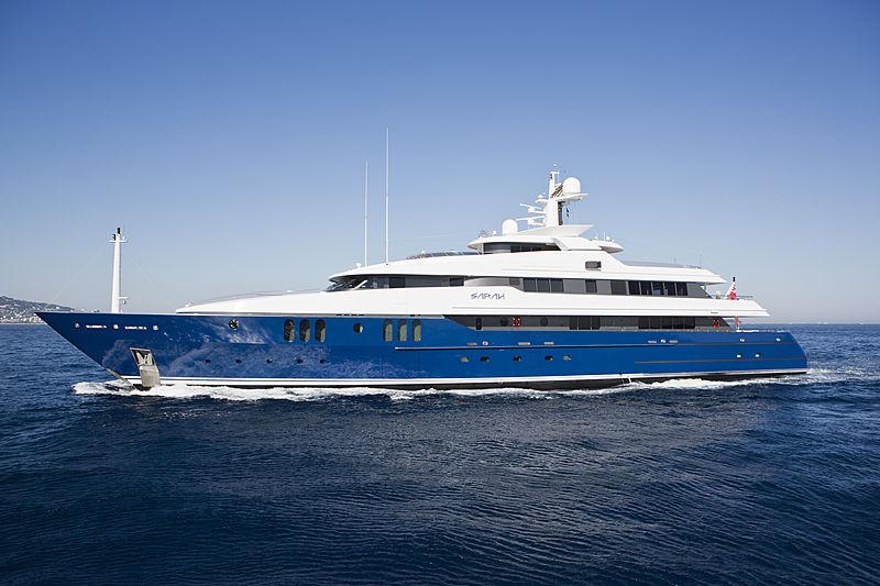 Sarah yacht cruising