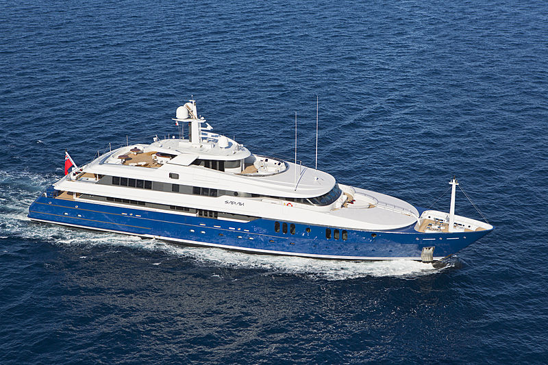 SARAH yacht Amels