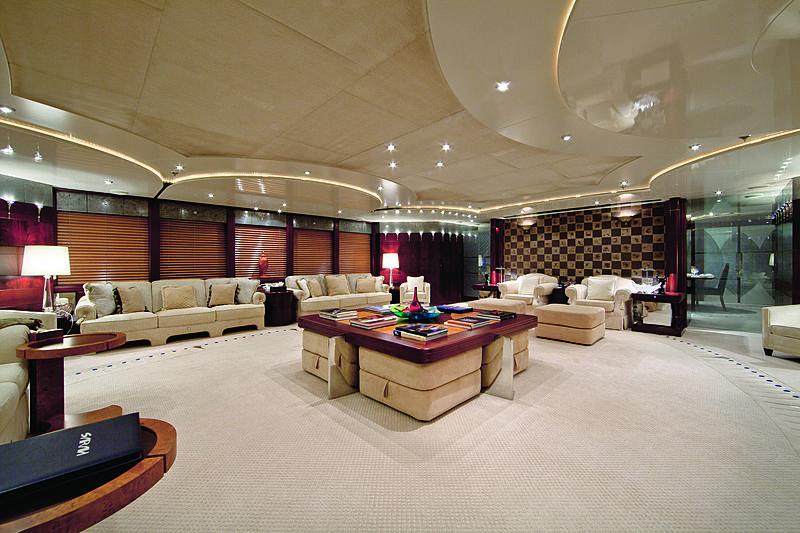 Sarah yacht saloon