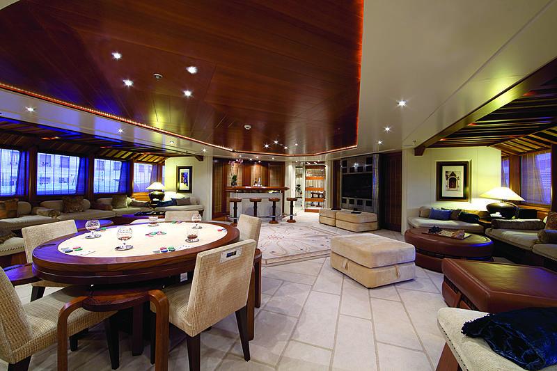 Sarah yacht lounge