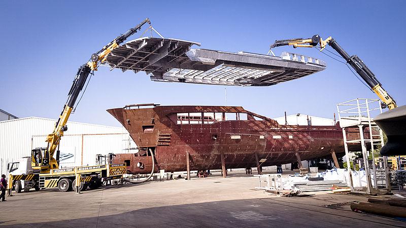 Kando 110 #2 yacht Construction