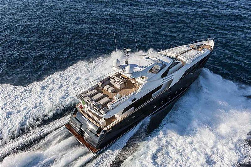 Morning star yacht cruising