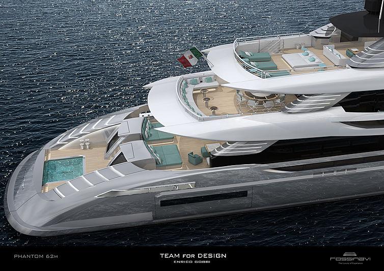 Phantom 62 yacht concept