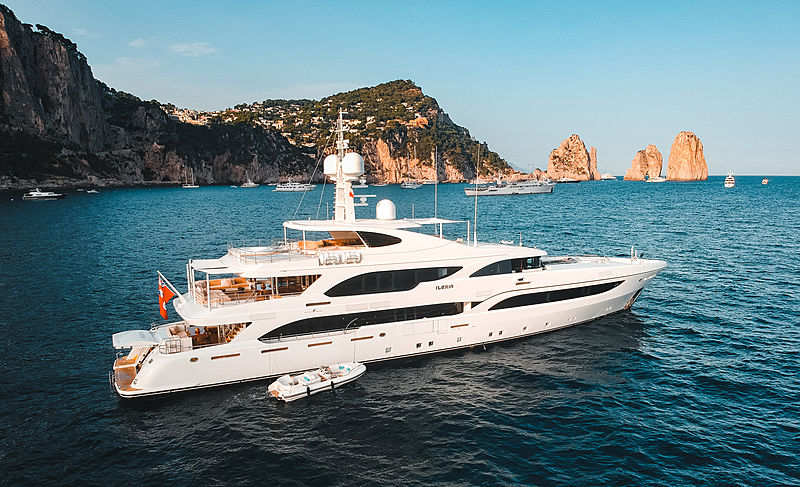 Ileria yacht by Turquoise Yachts in Capri, Italy