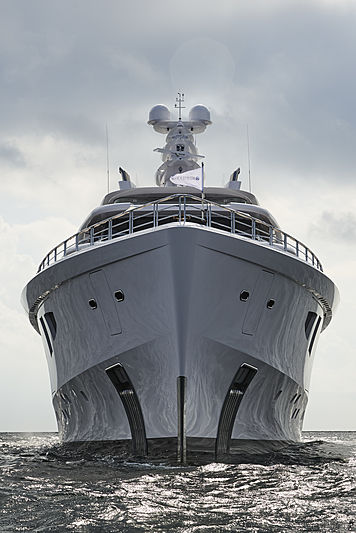 Artefact yacht by Nobiskrug sea trials