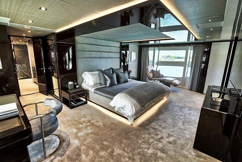 Take 5 yacht stateroom