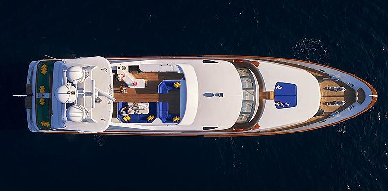 Castellina yacht aerial