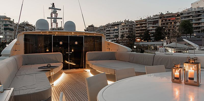 Babousha yacht sundeck