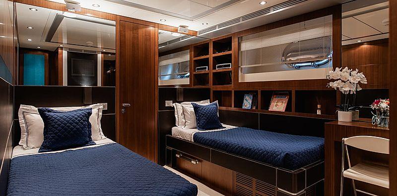 Babousha yacht stateroom