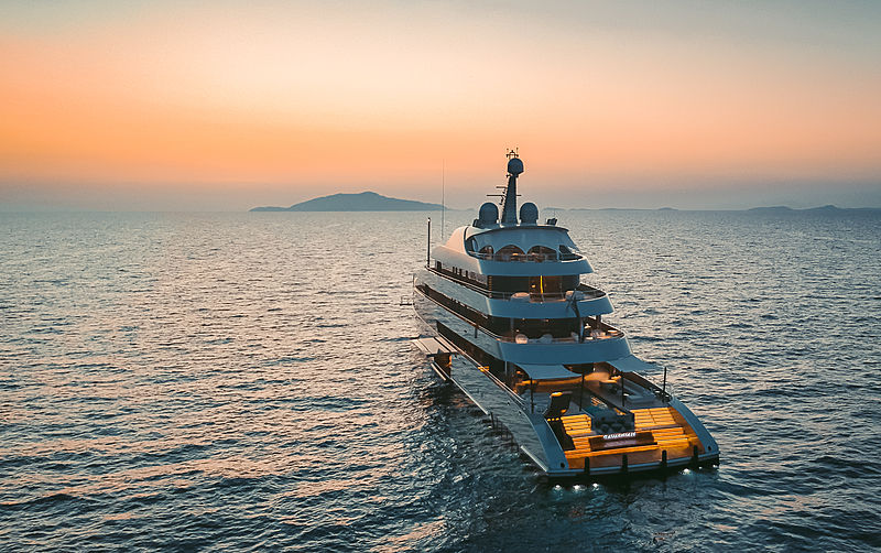 Savannah yacht by Feadship in Capri, Italy