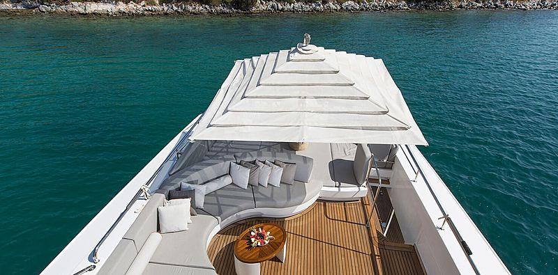 Pozitron yacht sundeck